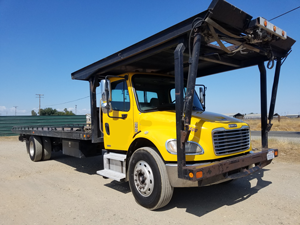 2003 FREIGHTLINER FL70~CENTURY 4-CAR CARRIER