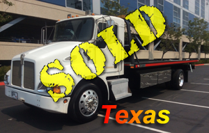 2006 KENWORTH T-300~MILLER 22' 2 CAR CARRIER WITH LIFT