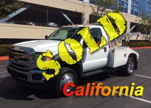 2011 FORD F550 (GAS)~CENTURY 312 AUTO LOAD (DUAL WINCHES)