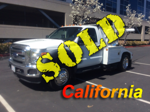 2013 FORD F550 (GAS)~CENTURY 311 (EXT BOOM) AUTO LOADER