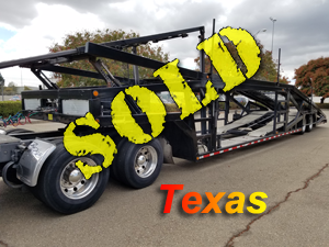 "2013 MILLER TITAN-7 CAR TRAILER (53'X102"")"