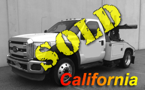 2014 FORD F450~CENTURY 311 EXPRESS AUTO LOADER (EXT. BOOM)