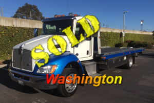 2016 KENWORTH T270~CHEVRON 21.6 LCG TWO CAR CARRIER (100K MILES!)