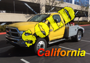 2018 DODGE 5500~CENTURY  311 EXPRESS AUTO LOAD (EXT. BOOM)