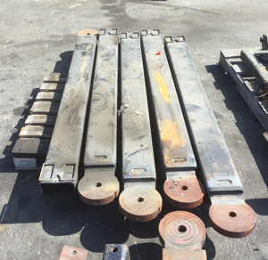 USED CAR CARRIER WHEEL LIFT PARTS