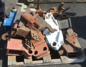 USED FORKS, FORK HOLDERS, ATTACHMENTS